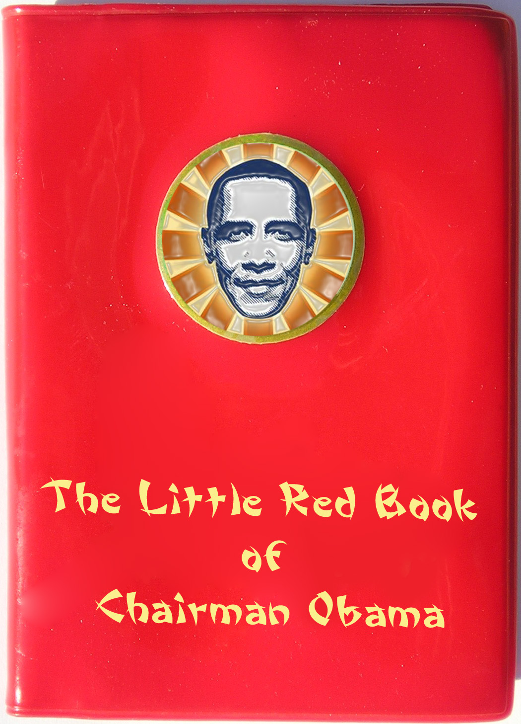 obama communist little red bok